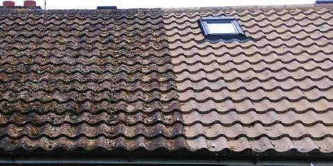 Brentwood roof cleaning